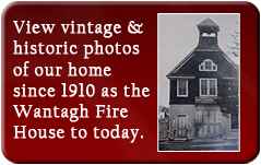 View vintage photos of the historic Wantagh Fire House